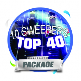 Pack 10 Sweepers ID Top 40