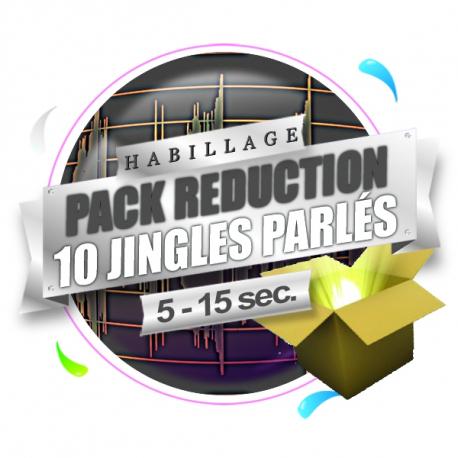 Pack 10 Jingles Parlés