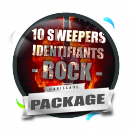 Pack 10 Sweepers ID Pop-Rock