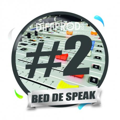 Bed de Speak Electro 2017-2