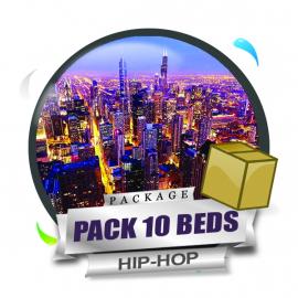 Pack 10 Beds Hip-Hop