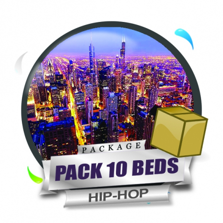 Pack 10 Beds Hip-Hop
