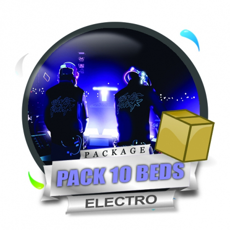 Pack 10 Beds Electro
