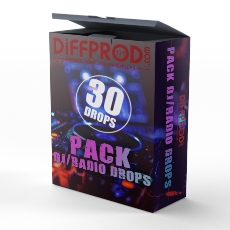 Pack 30 Dj/Radio Drops