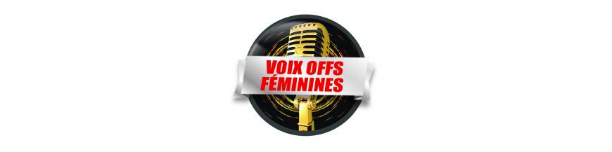Voix Offs Féminines