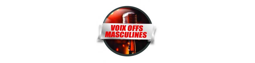 Voix Offs Masculines