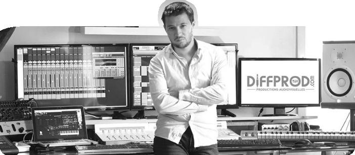 Paul Bronze, fondateur de DIFFPROD