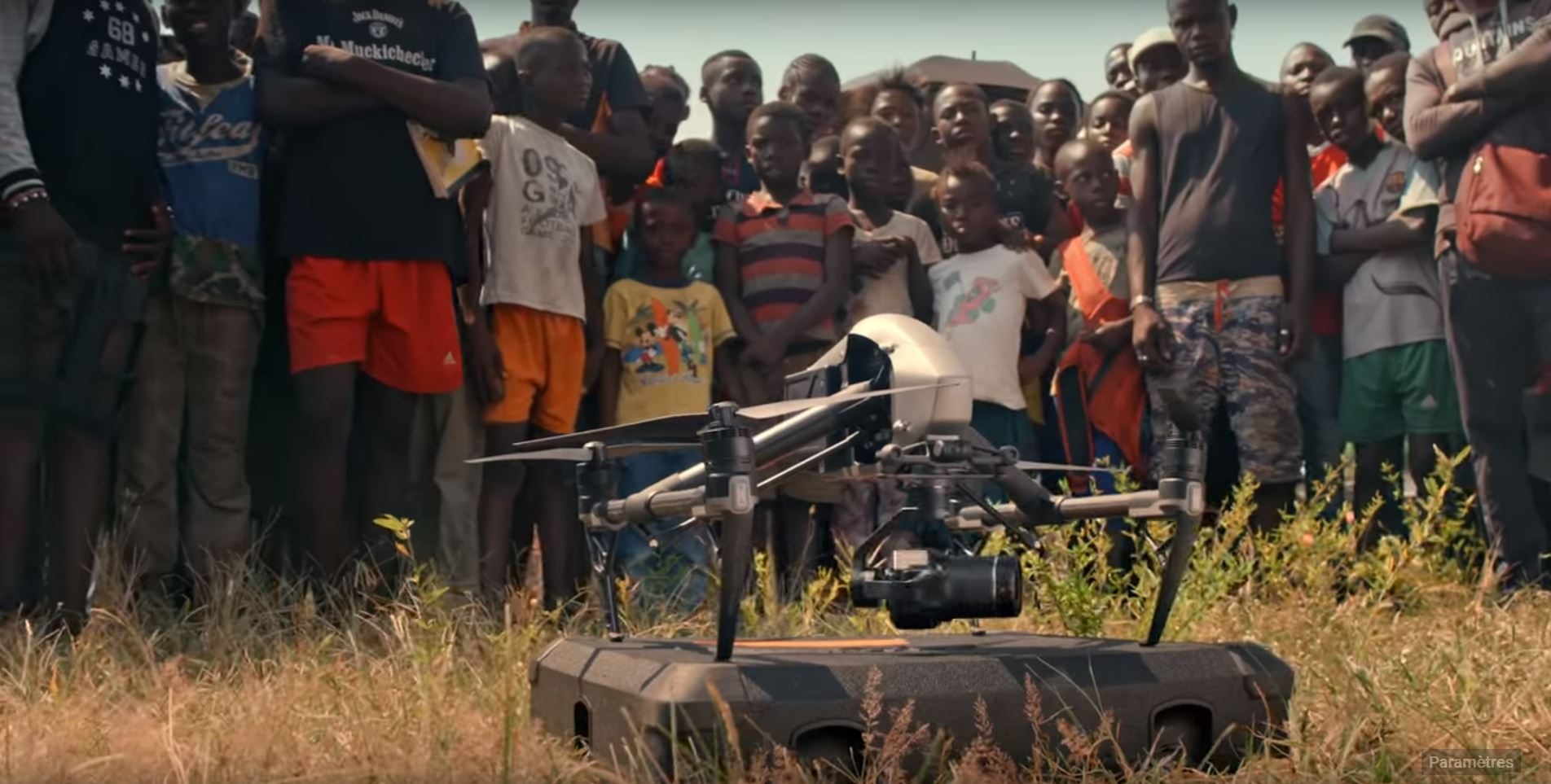 DJI avec Yann au Congo