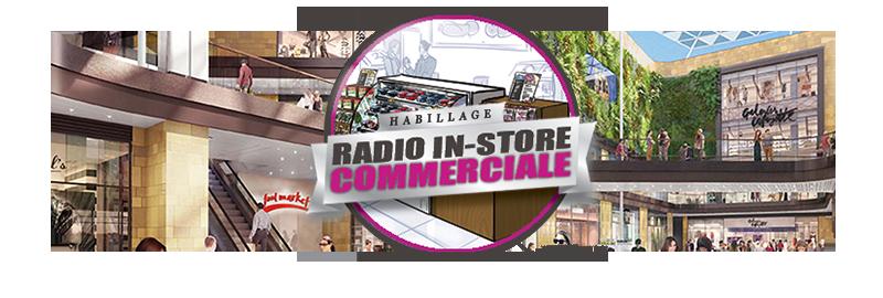Notre service de Radio In-Store