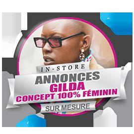 Gilda, radio feminine